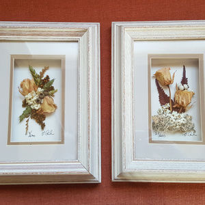 Beautiful Framed Dried flower Arrangements